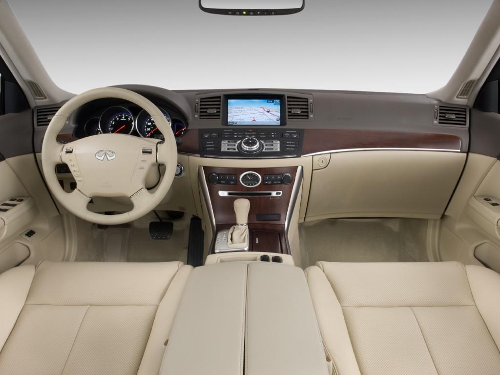 2010 infiniti m45 4 door sedan rwd dashboard