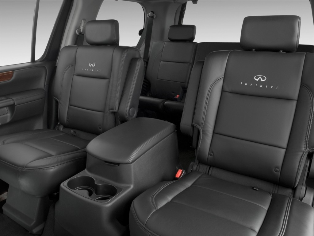Image: 2010 Infiniti QX56 RWD 4-door Rear Seats, size ...