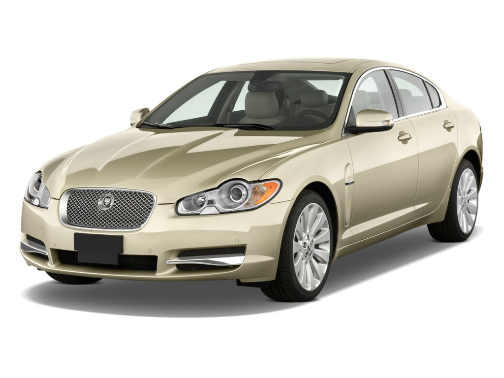 Image: 2010 Jaguar XF 4-door Sedan Premium Luxury Angular ...