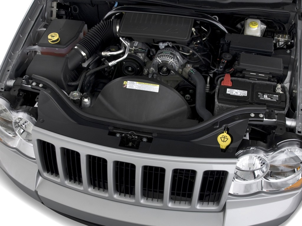 Image 2010 Jeep Grand Cherokee Rwd 4 Door Laredo Engine