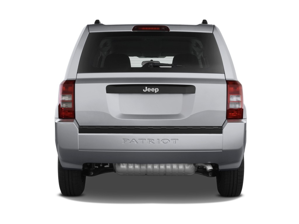 Image: 2010 Jeep Patriot FWD 4-door Sport Rear Exterior ...