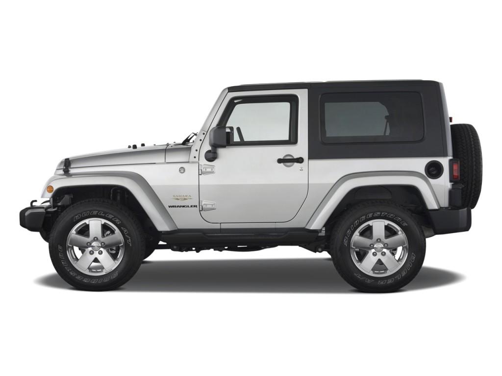 Image 2010 Jeep Wrangler 4wd 2 Door Sahara Side Exterior View Size 1024 X 768 Type Gif