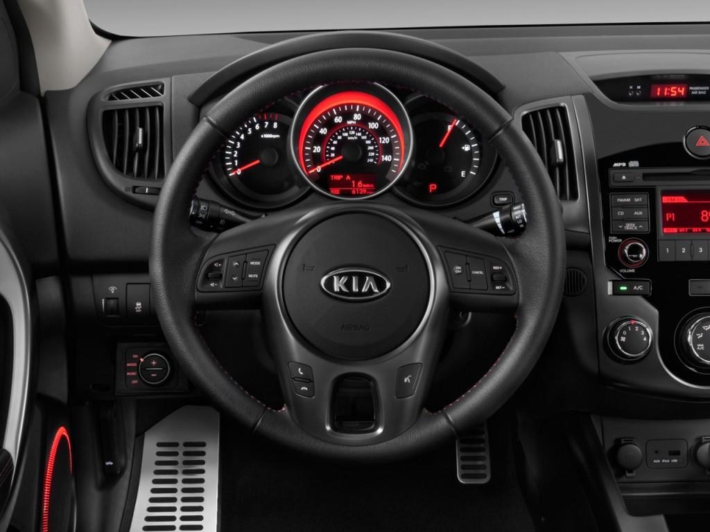 Image 2010 Kia Forte Koup 2 Door Coupe Auto Sx Steering