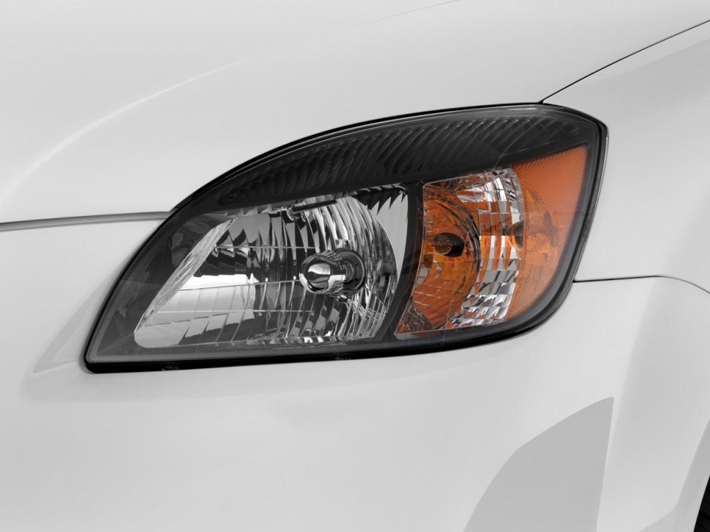 2010 Kia Rio 4 Door Sedan Auto Lx Headlight