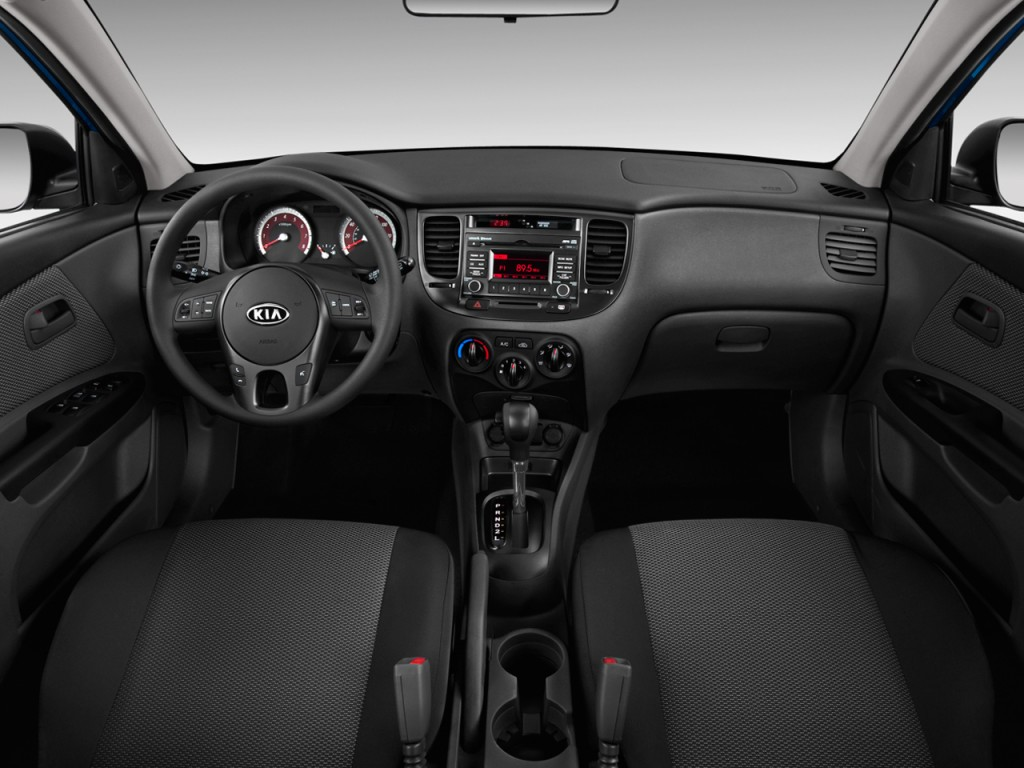 image 2010 kia rio 5dr hb auto rio5 lx dashboard size. Black Bedroom Furniture Sets. Home Design Ideas