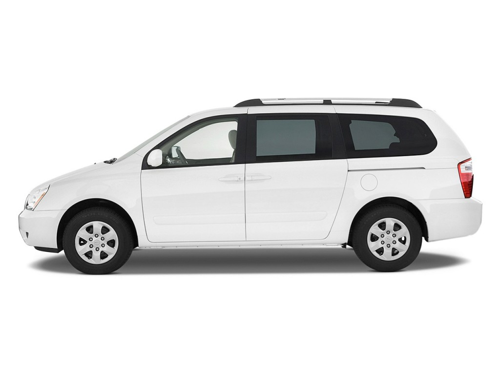 2010 Kia Sedona 4-door LWB LX Side Exterior View