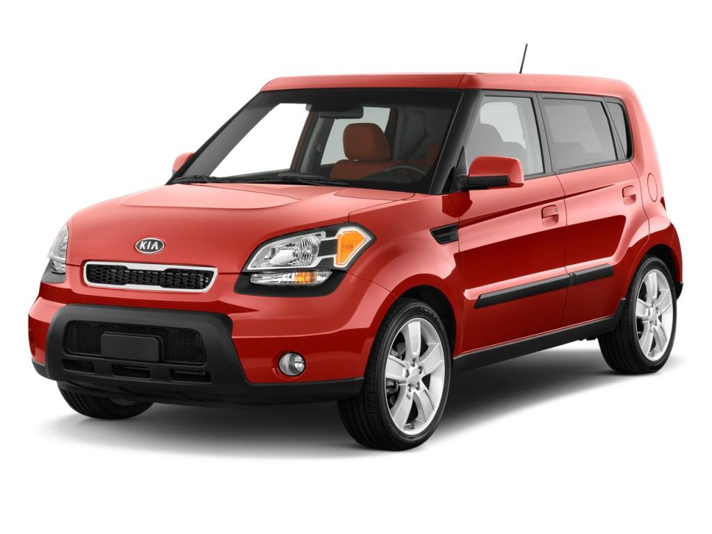 2010 Kia Soul 5dr Wagon Auto Sport Angular Front Exterior View