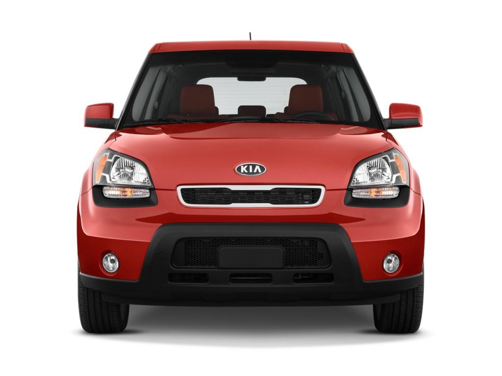 Image: 2010 Kia Soul 5dr Wagon Auto Sport Front Exterior ...