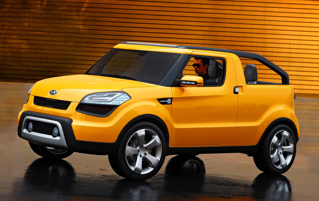 2009 Kia Soulster Concept Under Serious Consideration For Production