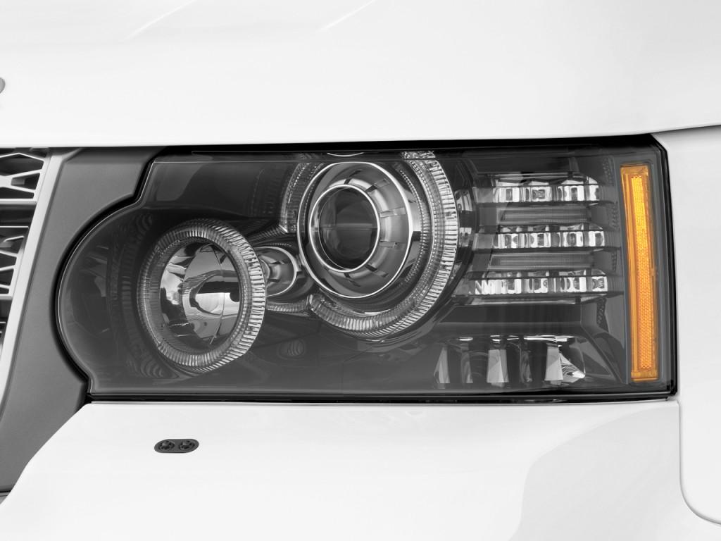 Image: 2010 Land Rover Range Rover 4WD 4-door HSE ...