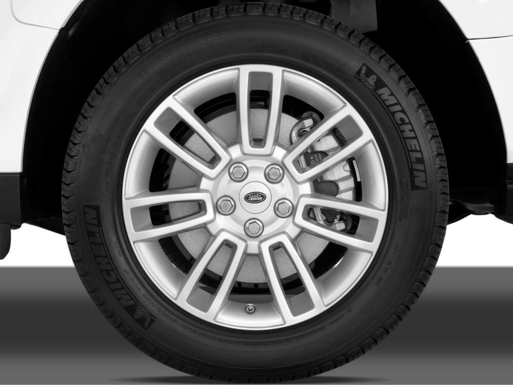 Image: 2010 Land Rover Range Rover 4WD 4-door HSE Wheel ...