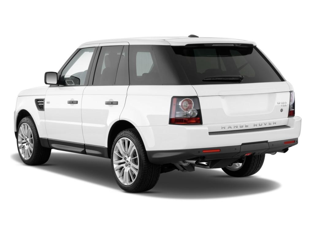 2010 Land Rover Range Rover Sport 4WD 4-door HSE Angular Rear Exterior View