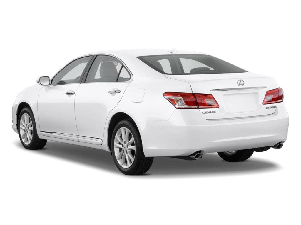 Image 2010 Lexus Es 350 4 Door Sedan Angular Rear Exterior View Size 1024 X 768 Type Gif