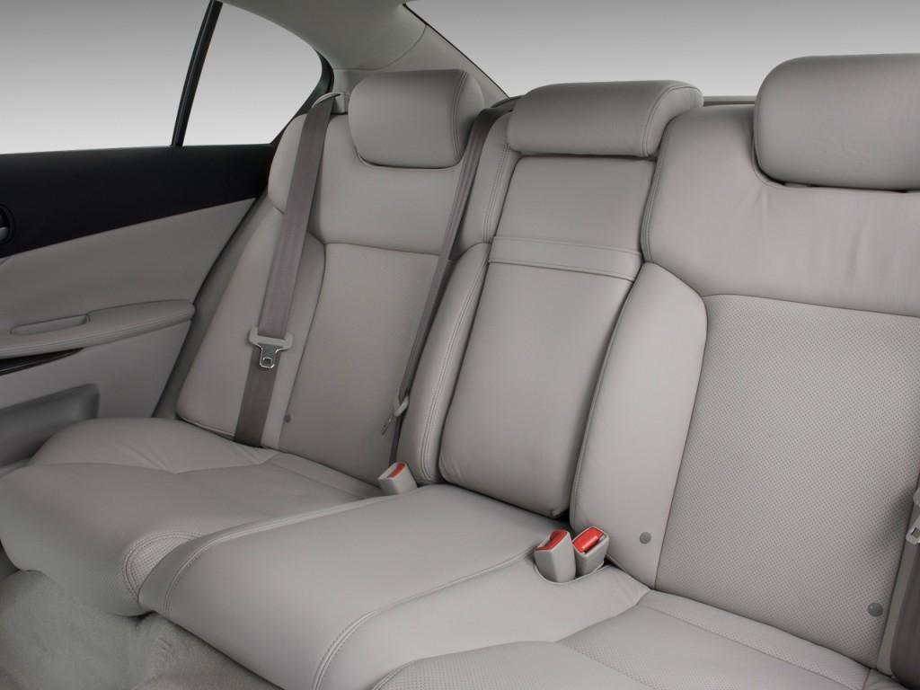 Image: 2010 Lexus GS 350 4-door Sedan RWD Rear Seats, size ...