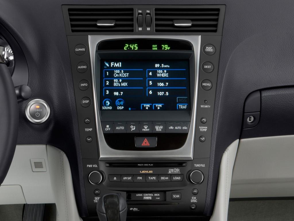 image 2010 lexus gs 450h 4 door sedan hybrid instrument. Black Bedroom Furniture Sets. Home Design Ideas