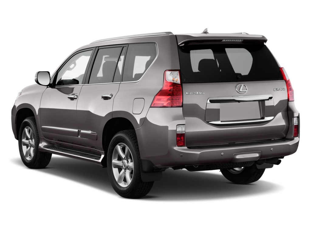 2010 Lexus GX 460 4WD 4-door Angular Rear Exterior View