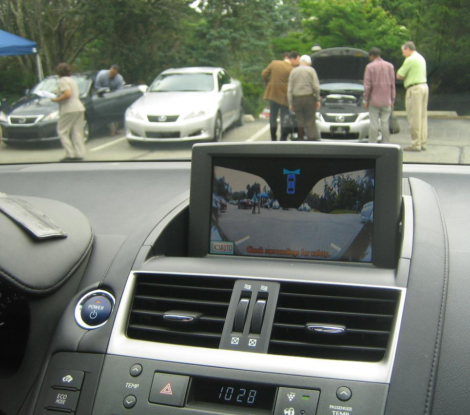 Image: 2010 Lexus HS250h - front wide-angle view, size ...