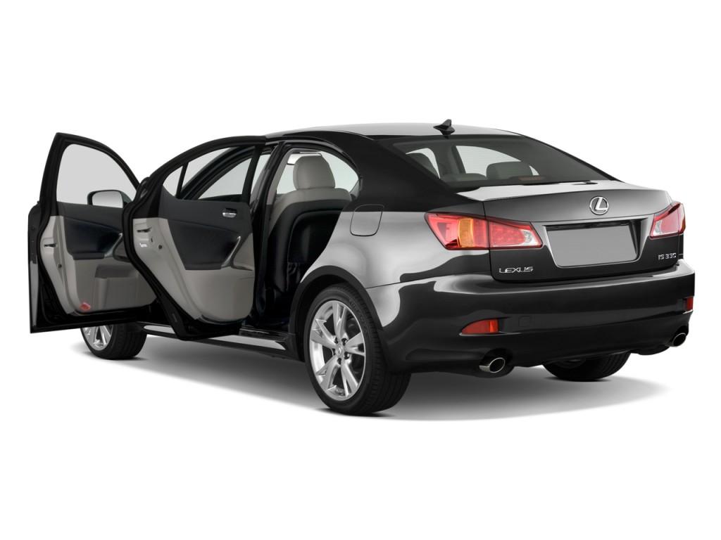 Image: 2010 Lexus IS 350 4-door Sedan Open Doors, size ...