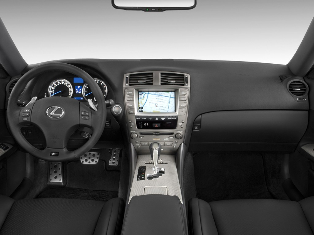 image 2010 lexus is f 4 door sedan dashboard size 1024. Black Bedroom Furniture Sets. Home Design Ideas