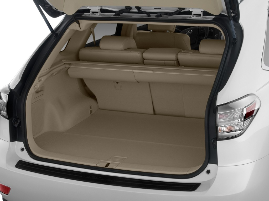 Lexus Rx 450h 2009 >> Image: 2010 Lexus RX 350 FWD 4-door Trunk, size: 1024 x 768, type: gif, posted on: December 5 ...