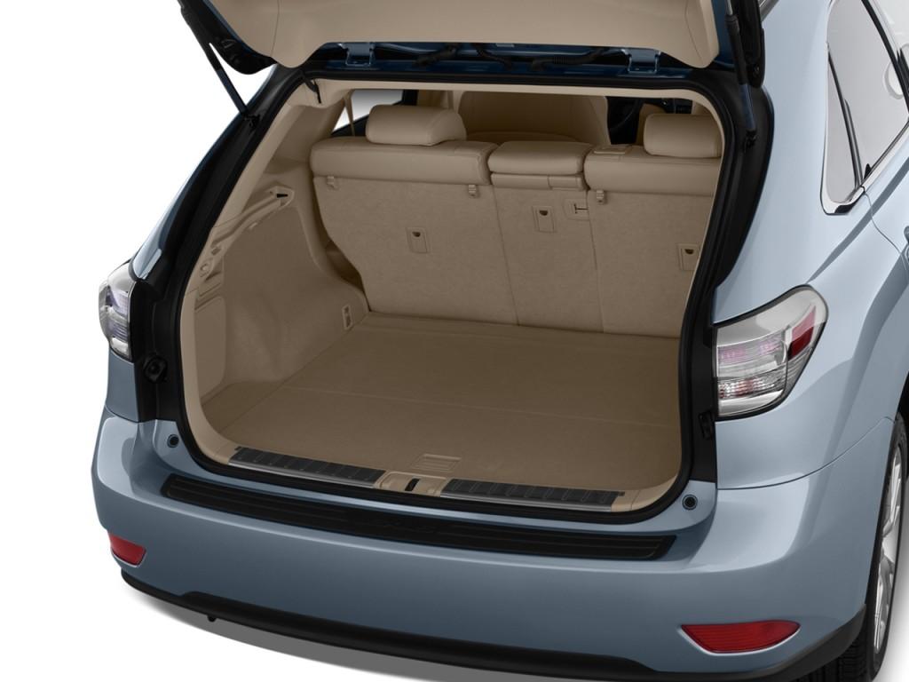 Image 2010 Lexus Rx 450h Awd 4 Door Hybrid Trunk Size