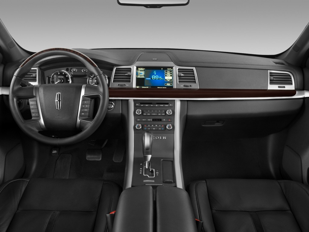 Image 2010 Lincoln Mks 4 Door Sedan 3 7l Awd Dashboard