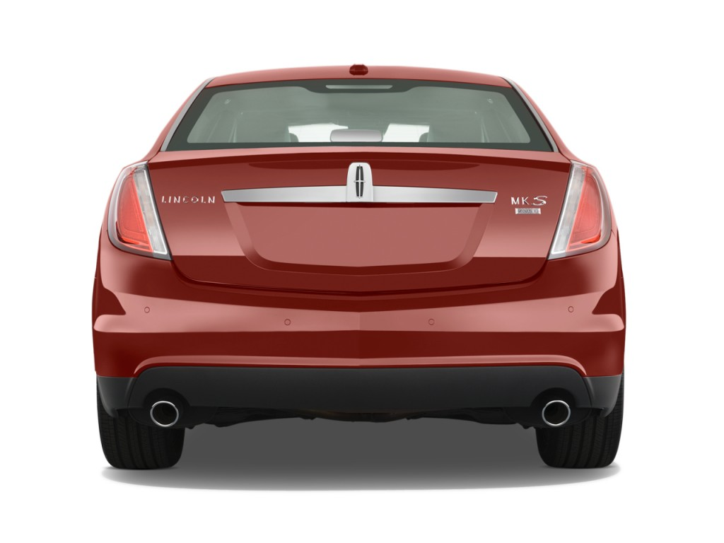 2010 Lincoln MKS 4-door Sedan 3.7L AWD Rear Exterior View