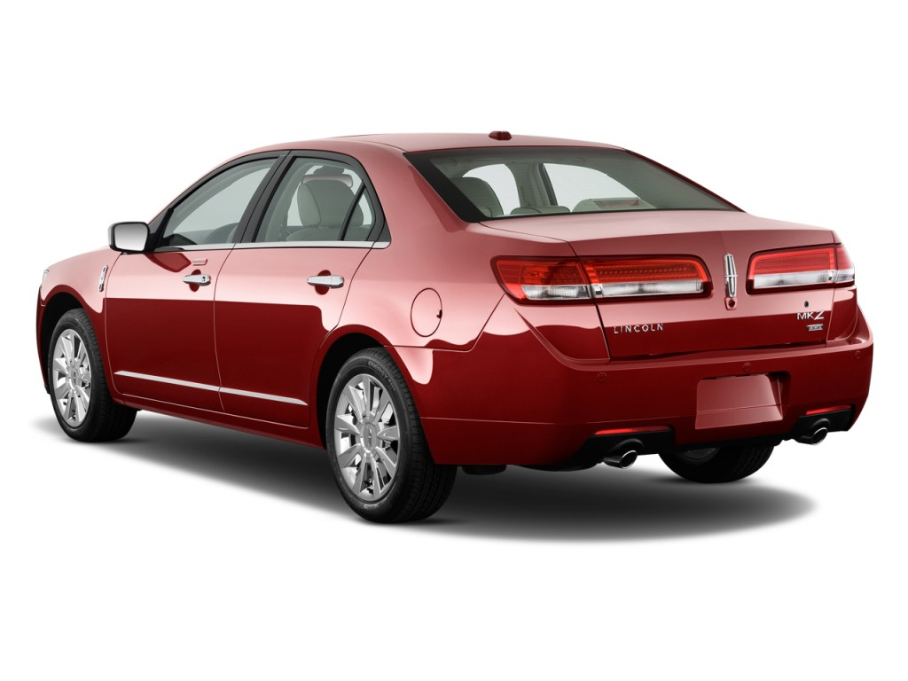 2010 Lincoln MKZ 4-door Sedan AWD Angular Rear Exterior View