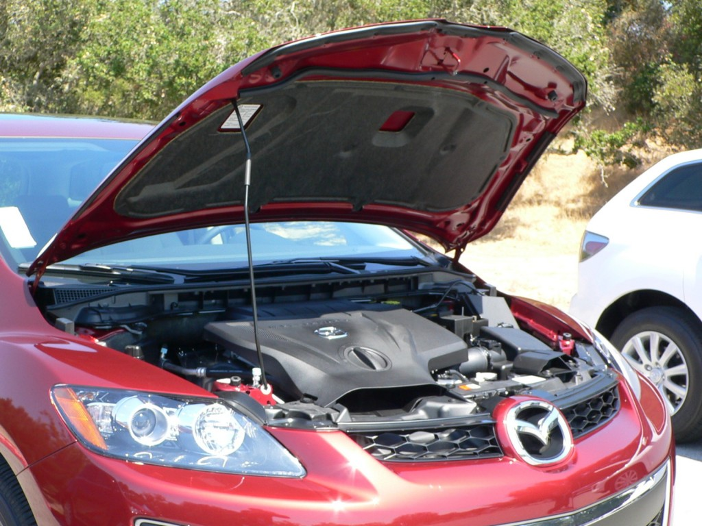 Image: 2010 Mazda CX-7 - New hood insulation on turbo ...
