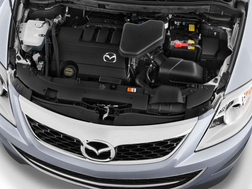 Image: 2010 Mazda CX-9 FWD 4-door Sport Engine, size: 1024 ...