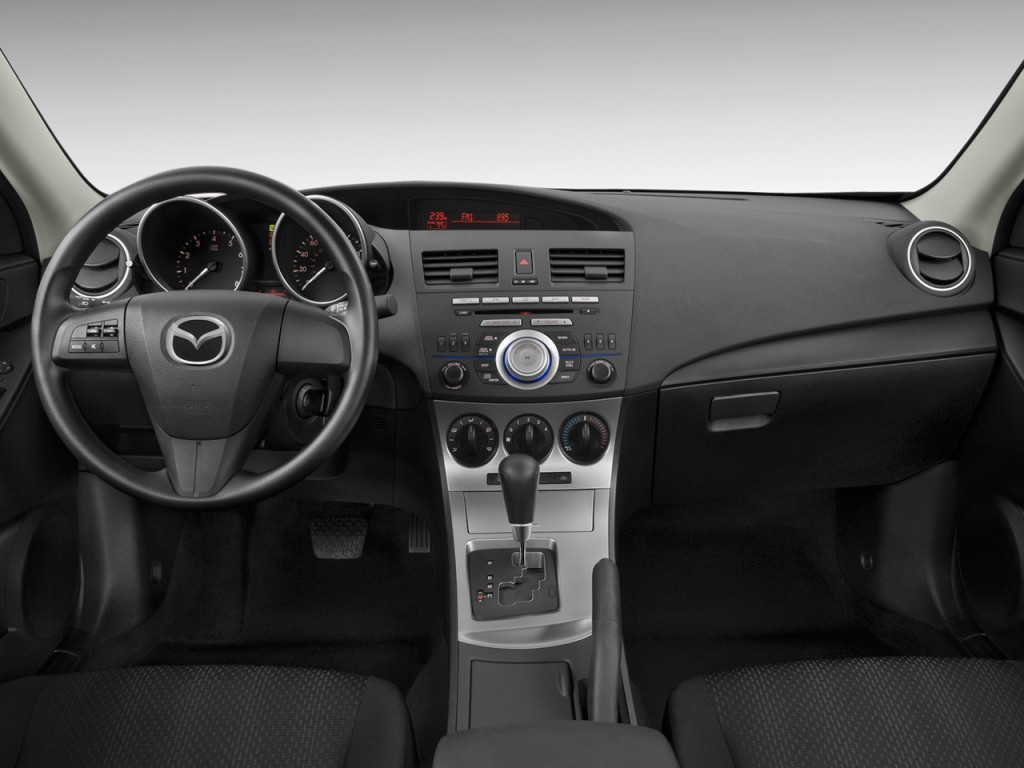 Image 2010 Mazda Mazda3 4 Door Sedan Auto I Sport Dashboard Size 1024 X 768 Type Gif