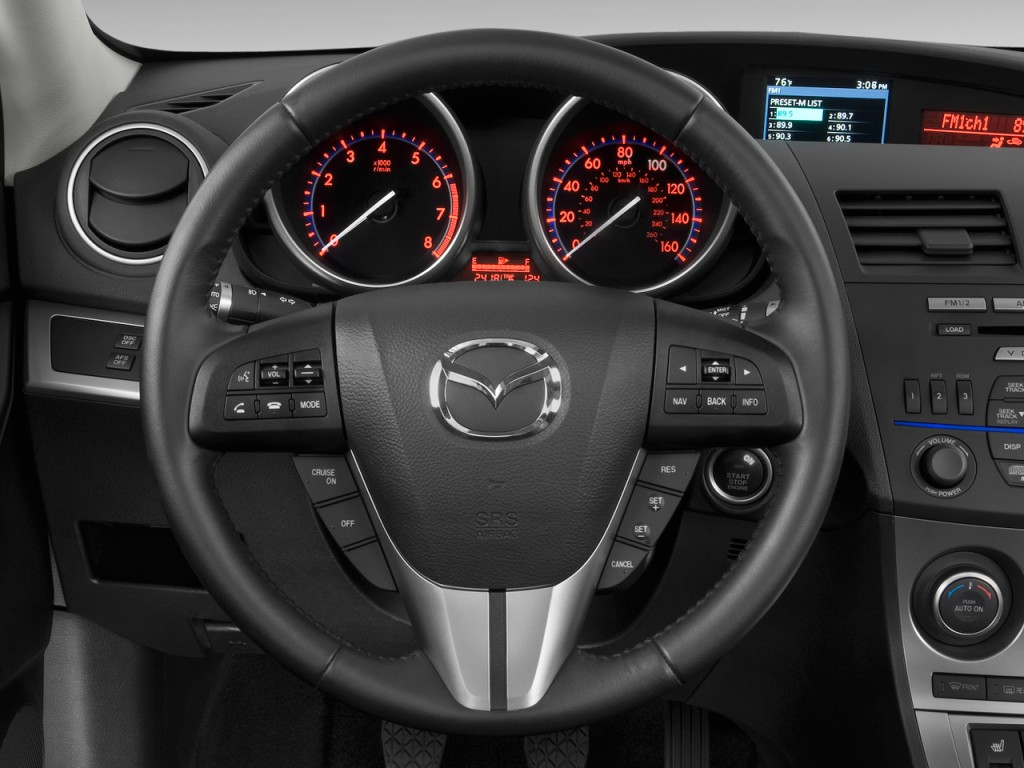 image 2010 mazda mazda3 5dr hb man s grand touring steering wheel size 1024 x 768 type gif. Black Bedroom Furniture Sets. Home Design Ideas