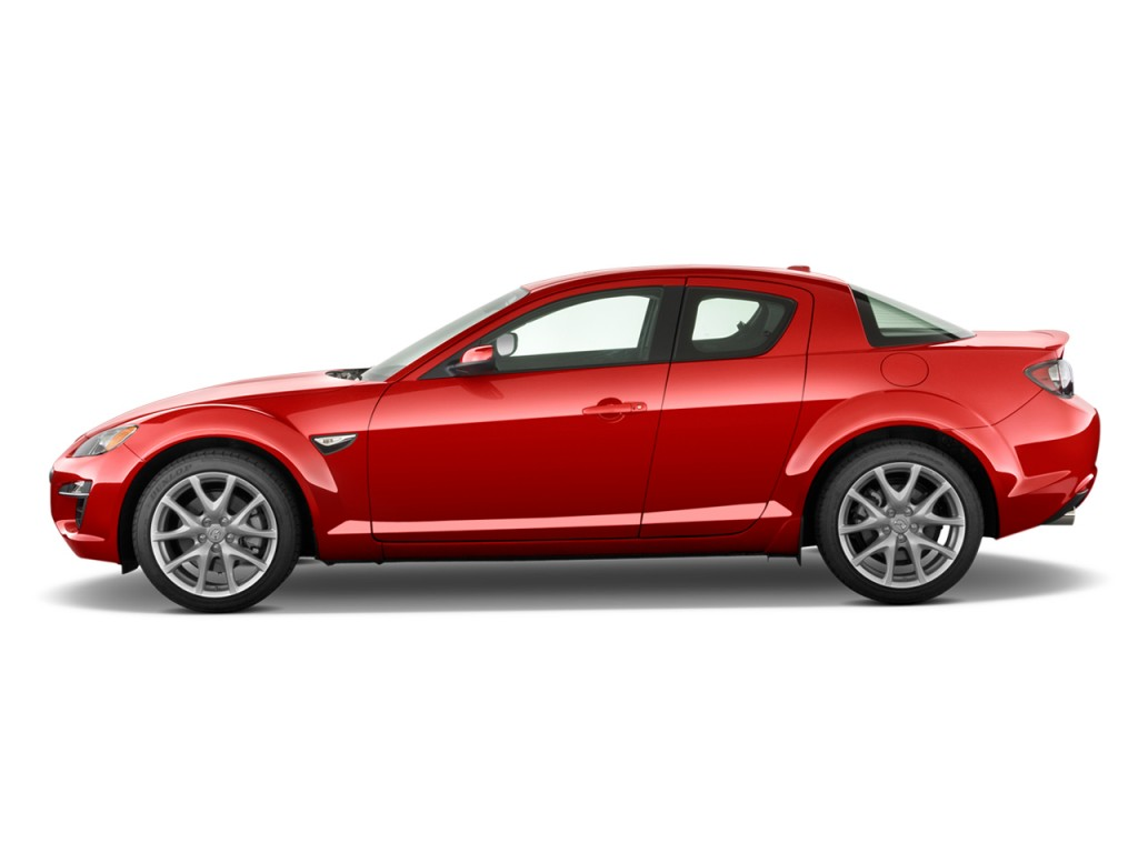 2010 Mazda RX 8 4 Door Coupe Man Grand Touring Side Exterior View