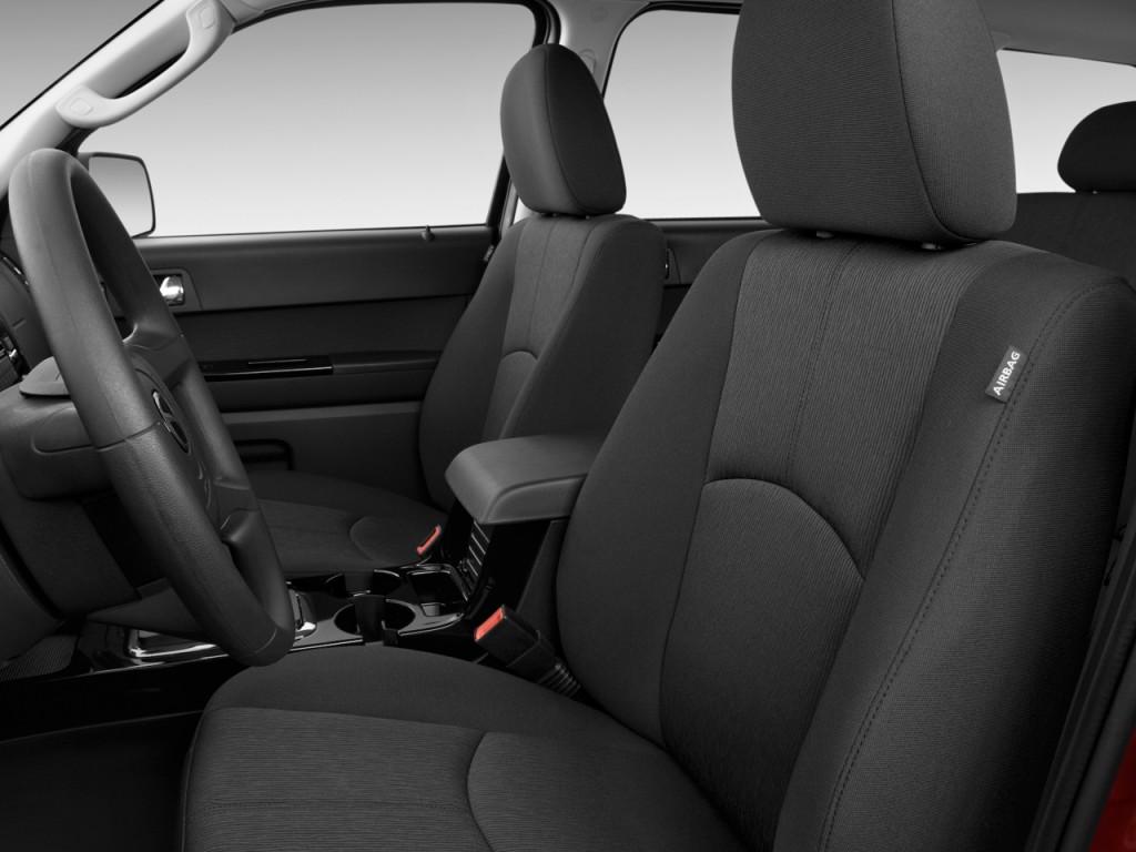 Image: 2010 Mazda Tribute FWD I4 Auto Sport Front Seats ...