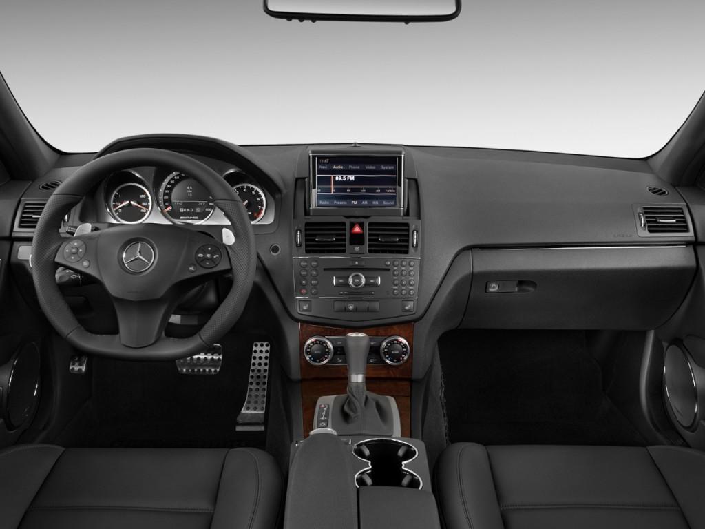 Image: 2010 Mercedes-Benz C63 AMG 4-door Sedan 6.3L AMG ...