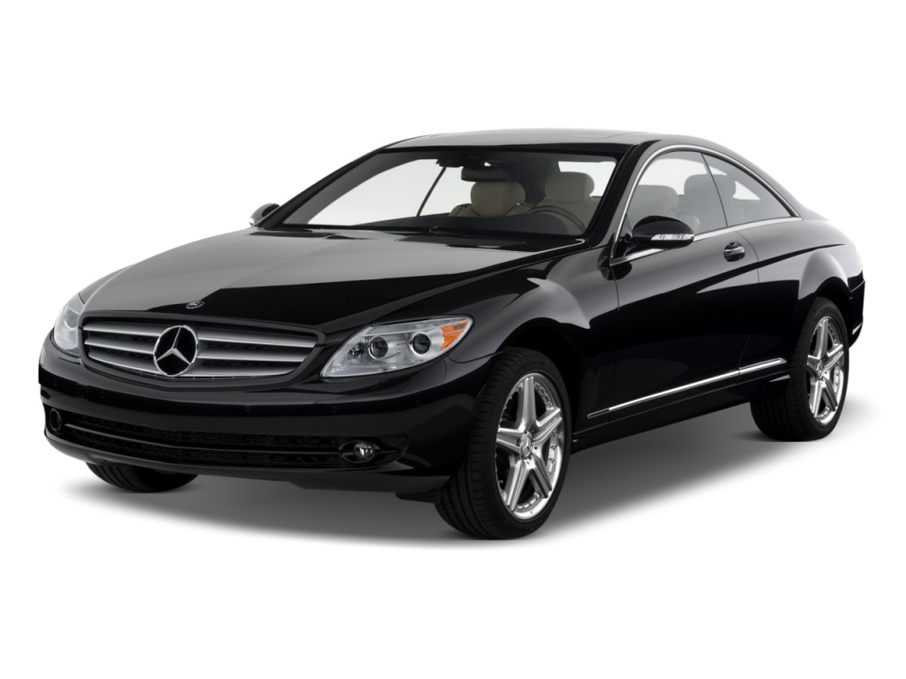 Image: 2010 Mercedes-Benz CL Class 2-door Coupe 5.5L V8