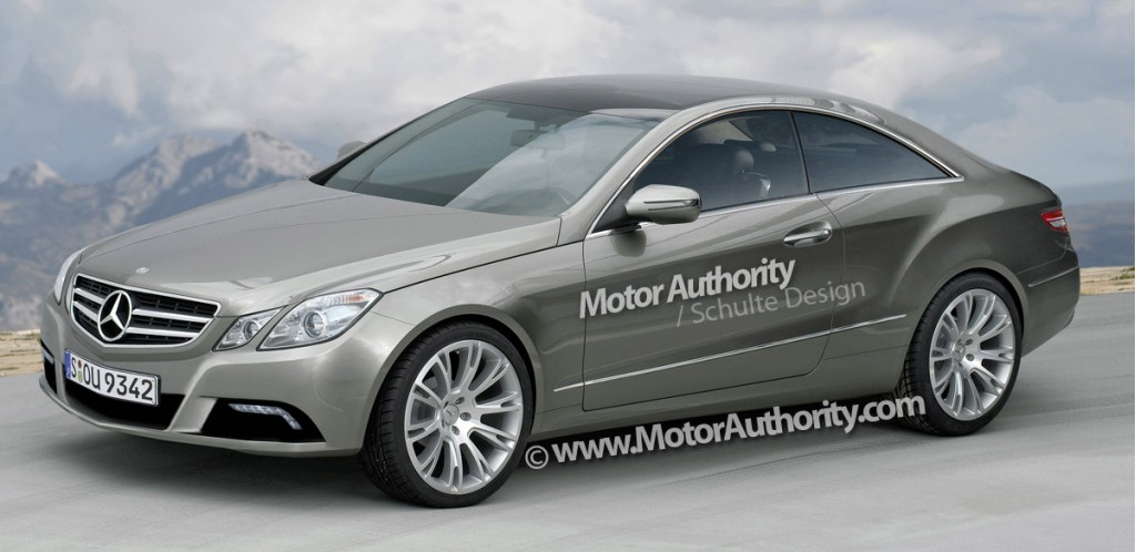 2010 mercedes benz e class coupe rendering motorauthority 003 2