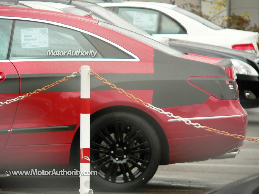 2010 mercedes benz e class coupe spy shots october 004