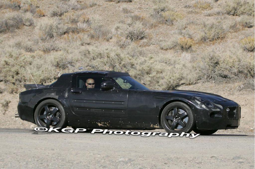 2010 Mercedes-Benz SLC Spy Shots