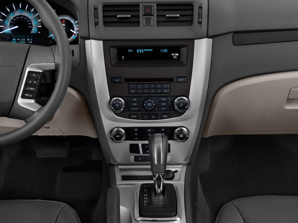 2010 mercury milan 4 door sedan premier fwd instrument panel
