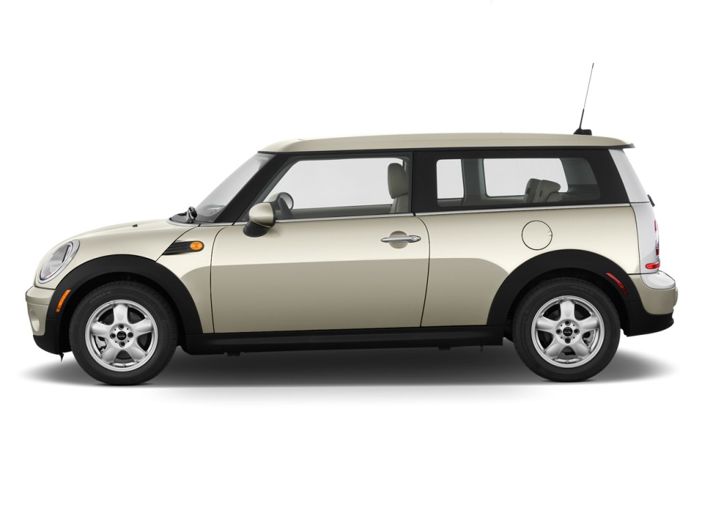 Image 2010 Mini Cooper Clubman 2 Door Coupe Side Exterior View Size 1024 X 768 Type Gif