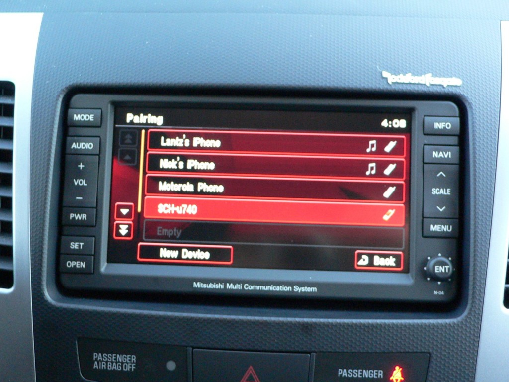 Mitsubishi Debuts Sync Rival Called Fuse In 2010 Outlander