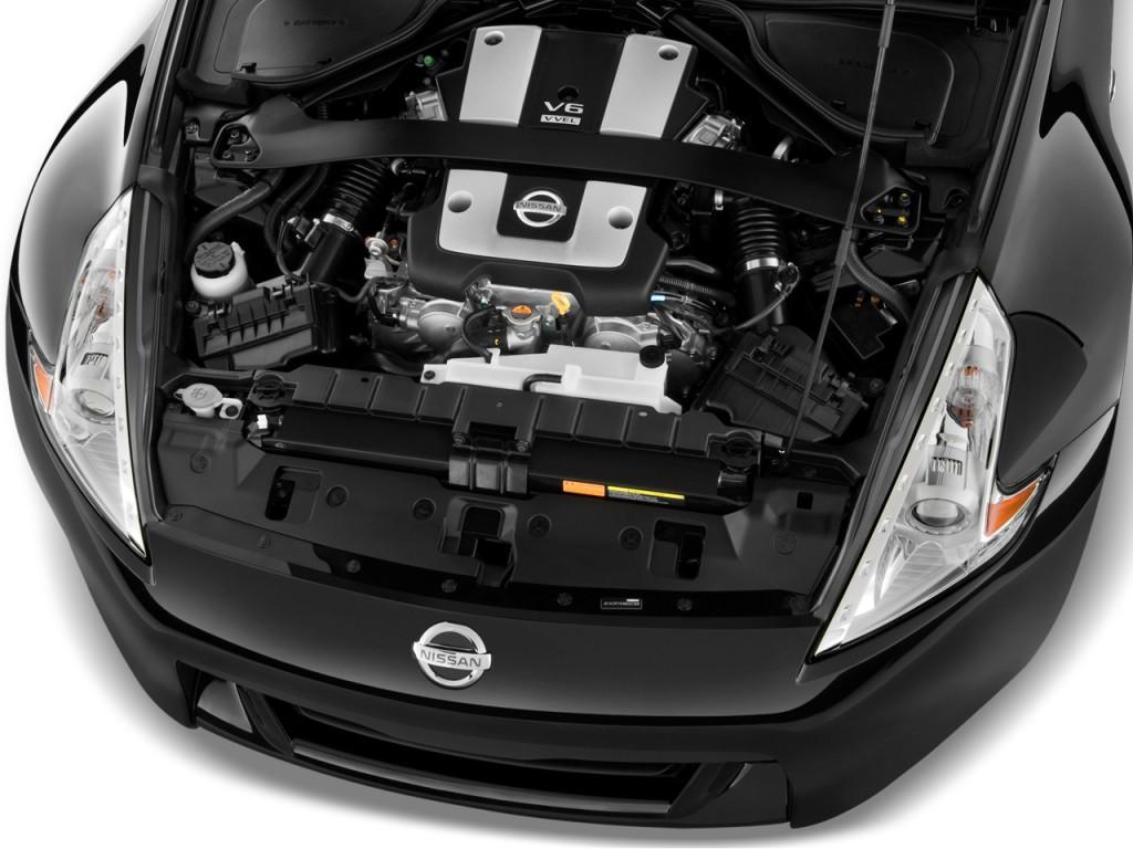 Image: 2010 Nissan 370Z 2-door Roadster Auto Engine, size ...