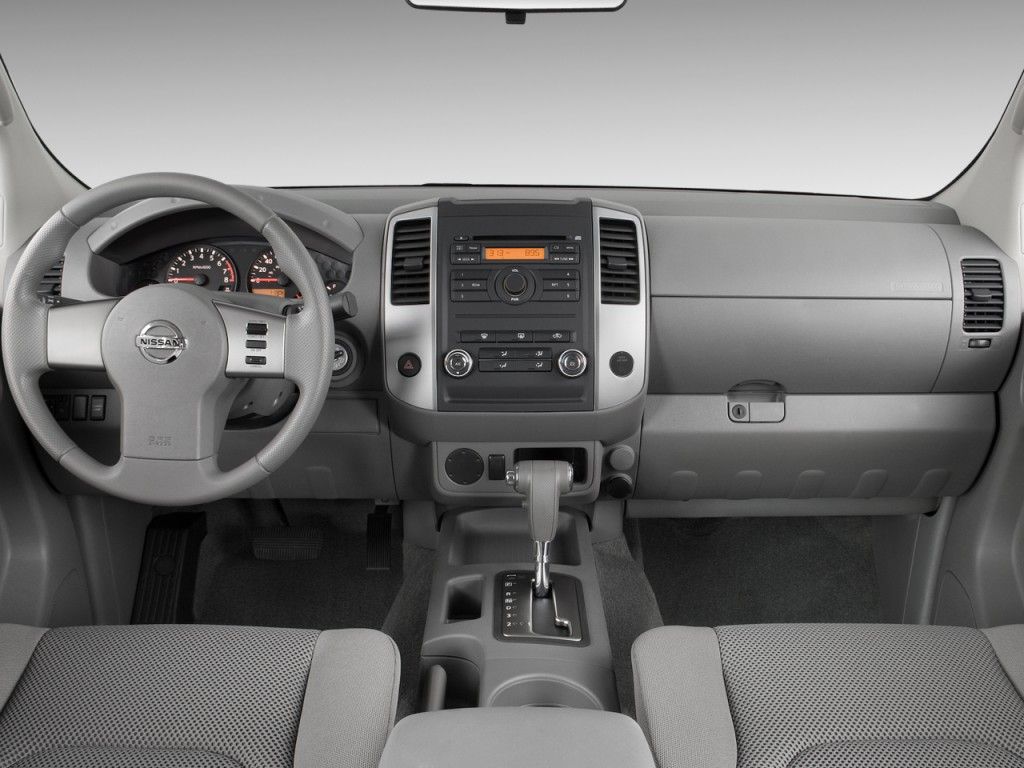 Image 2010 Nissan Frontier 2wd Crew Cab Swb Auto Se Dashboard Size 1024 X 768 Type Gif