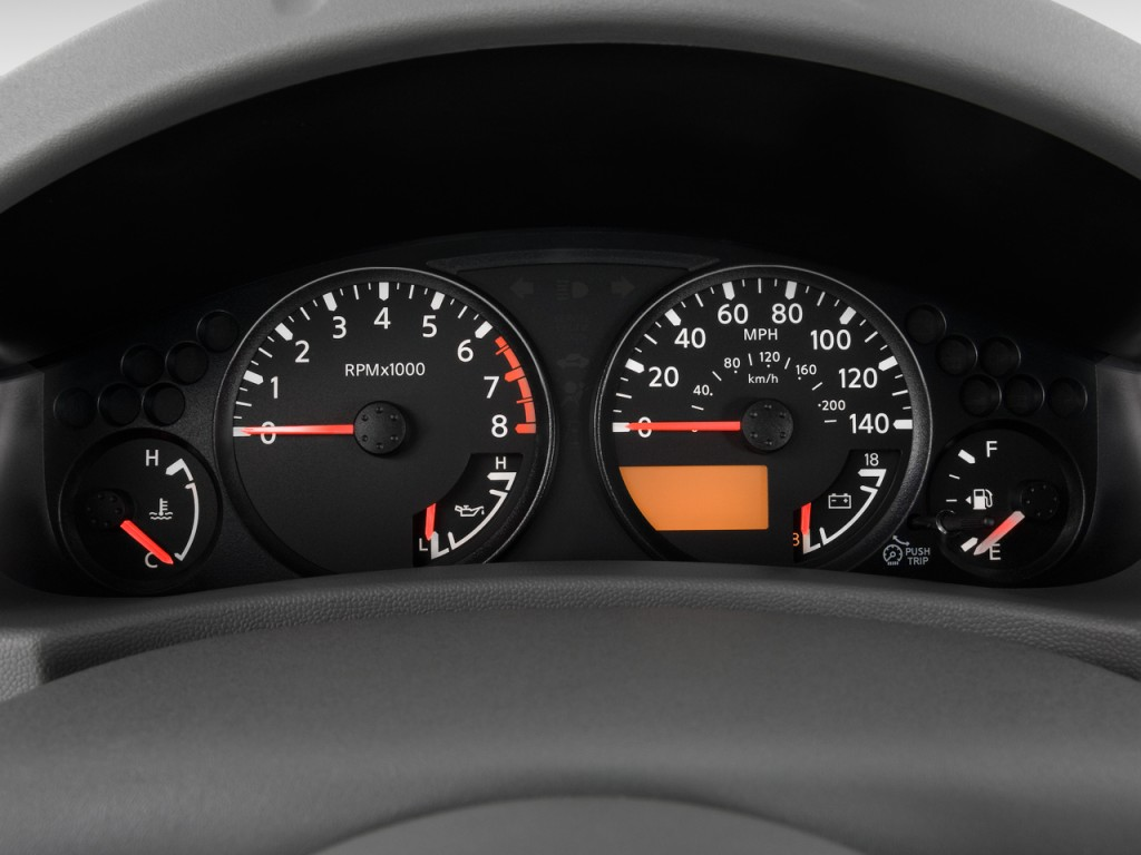 image  nissan frontier wd crew cab swb auto se instrument cluster size    type
