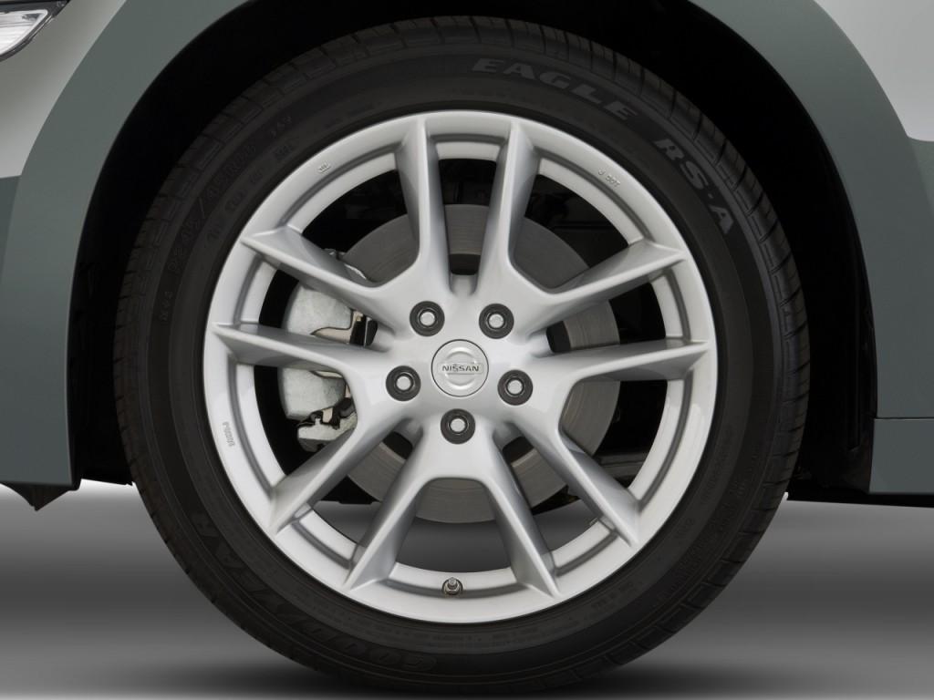 Image: 2010 Nissan Maxima 4-door Sedan V6 CVT 3.5 SV Wheel ...