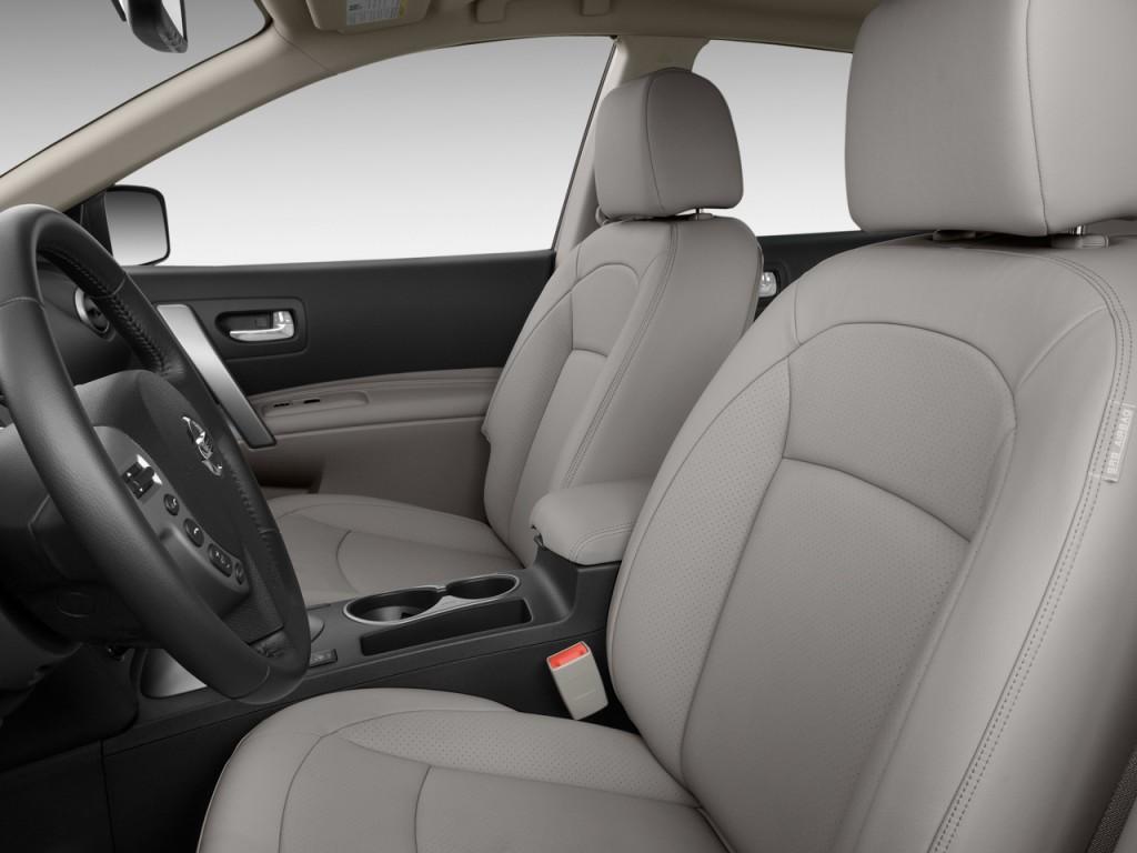 Image: 2010 Nissan Rogue FWD 4-door SL Front Seats, size ...