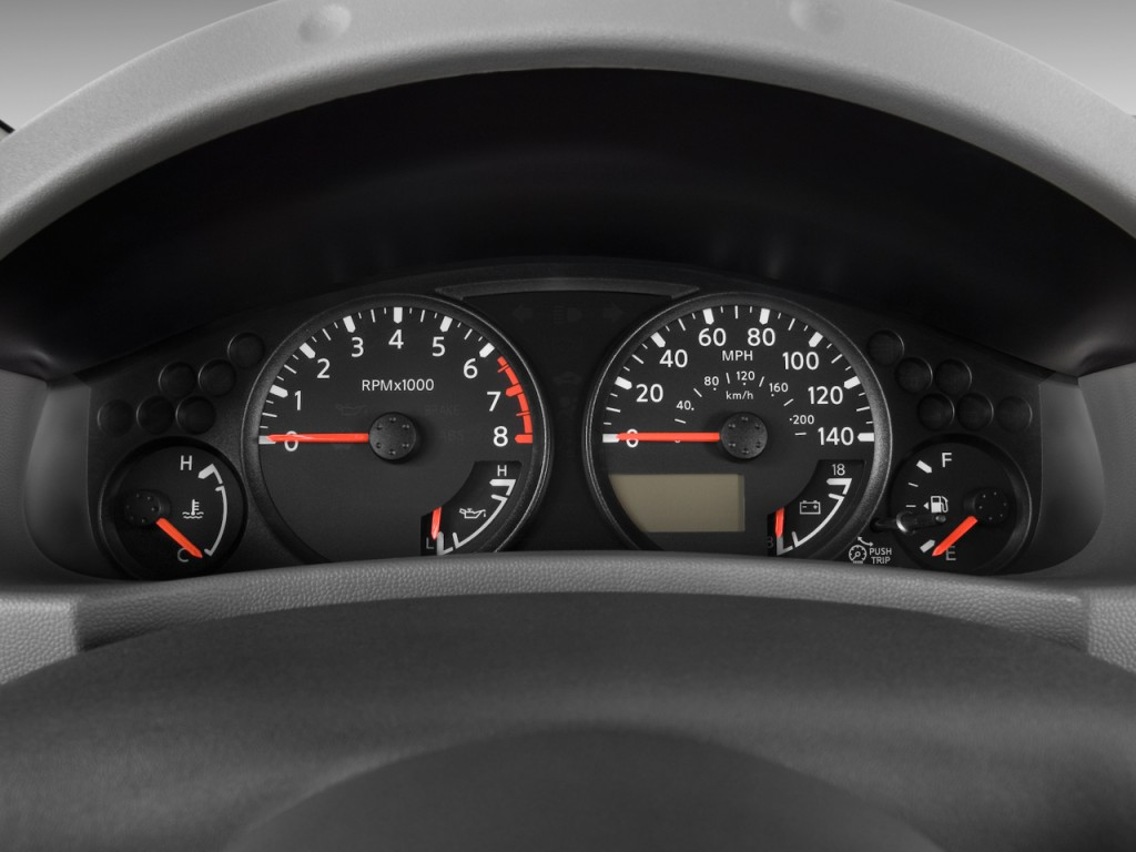 Image 2010 Nissan Xterra 2wd 4 Door Auto X Instrument