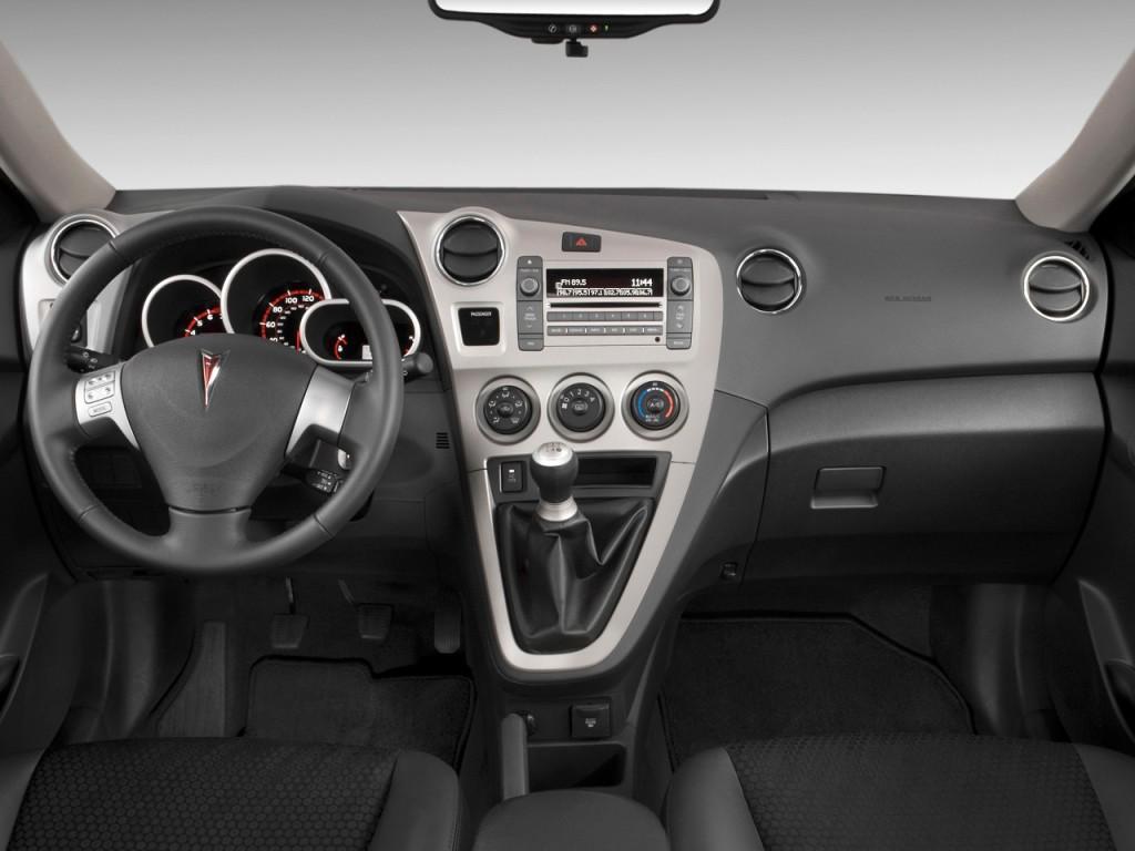 Image 2010 Pontiac Vibe 4 Door Hb Gt Fwd Dashboard Size