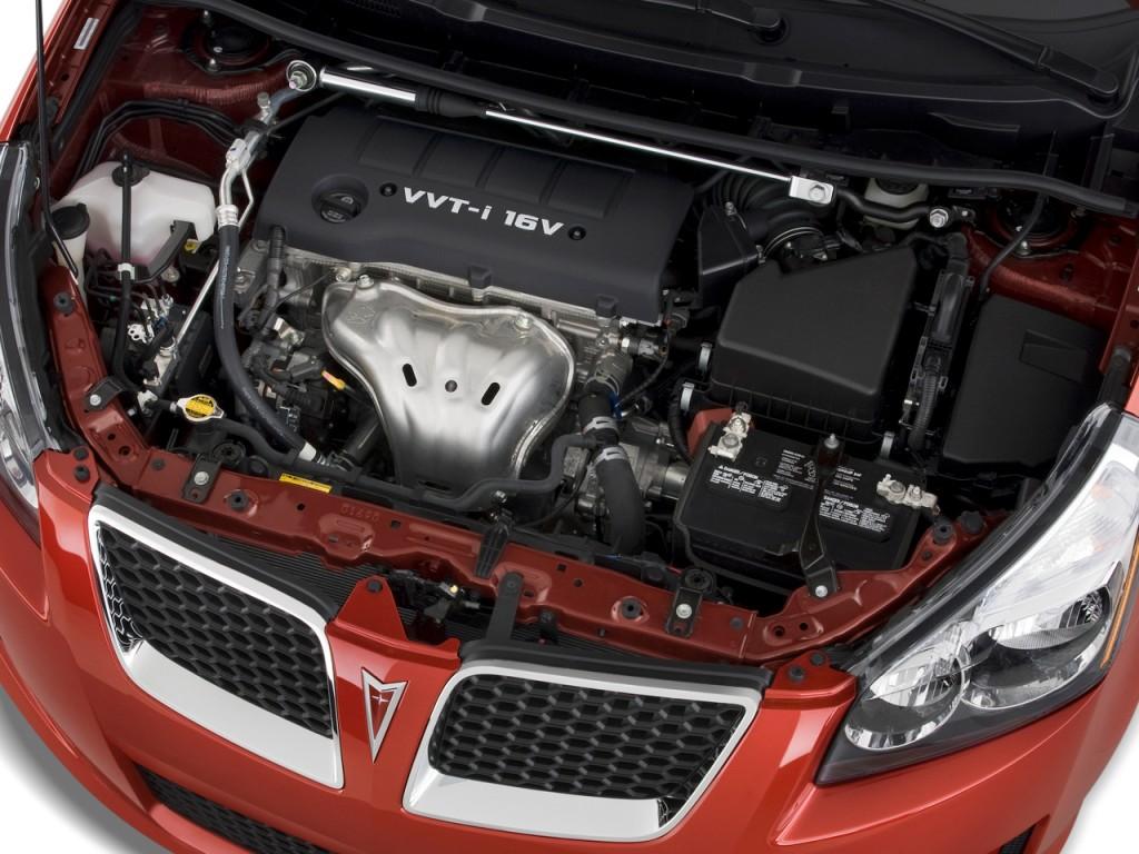 Image: 2010 Pontiac Vibe 4-door HB GT FWD Engine, size ...